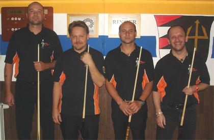 SBC-Inzing Mannschaft 1 (stehend) Saison2012-13