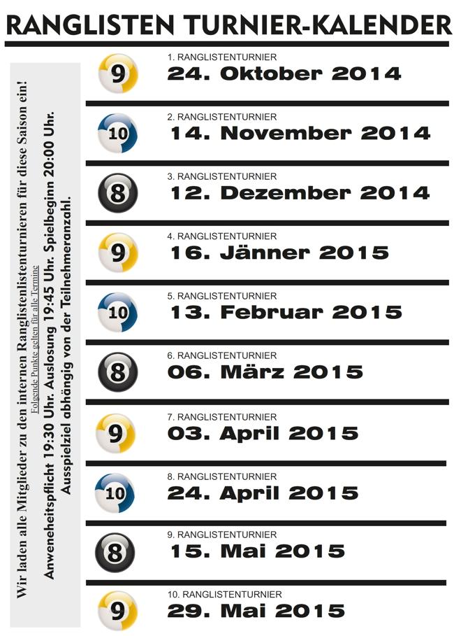 ranglistenkalender